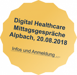 Digital Healthcare - Mittagsgespräche in Alpbach